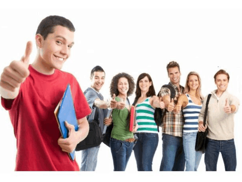 Students from IAS Coaching centres