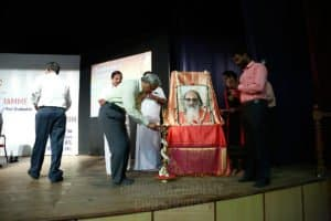 Career guidance program starting with lamp lighting at Chinmaya IAS Academy
