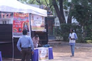 """Think Before You Leap"" campaign organized at DG college by Chinmaya IAS Academy, Chennai"