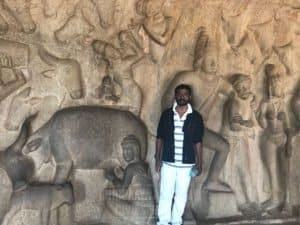 A click at the field trip to Mahabalipuram by Chinmaya IAS Academy People
