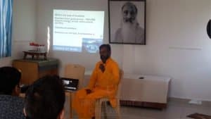 Seminar conducted in Chinmaya IAS Academy