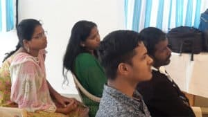 IAS students listening their seminar classes at Chinmaya IAS Academy